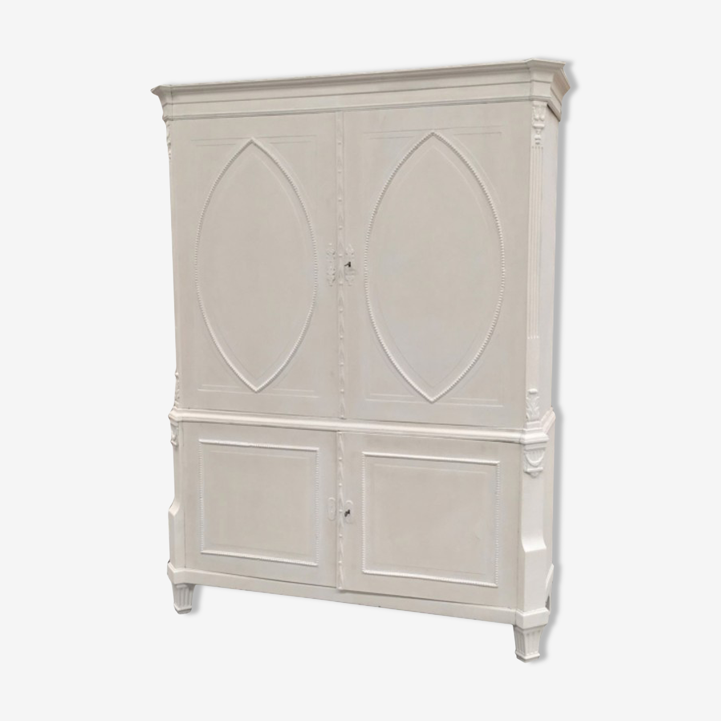Cabinet de lin peint 18e anglais