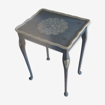 Art deco side table revisited