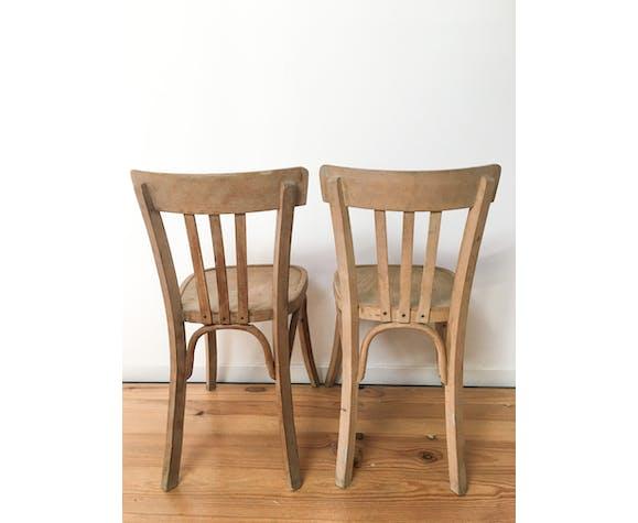 Lot de 2 chaises bistrot Luterma