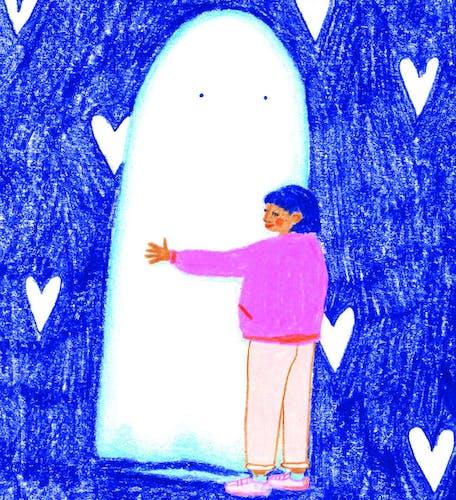 "Illustration"" In peace withe my ghosts"" édition limitée, tirage numérique"