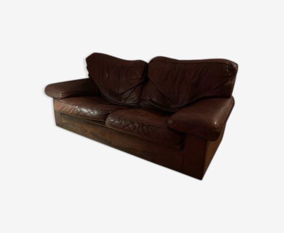 Canapé club cuir