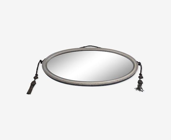 Miroir ovale 38 x 65 cm