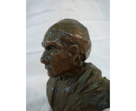 Buste bronze