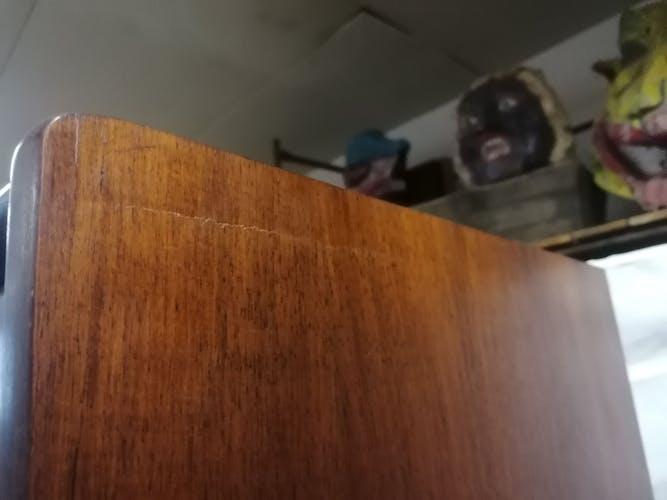 Armoire vintage en palissandre