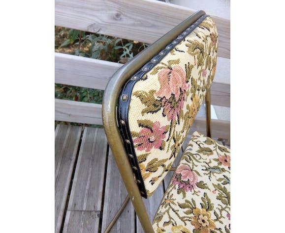 Chaise pliante Lafuma modèle Chantazur d'avant 1968