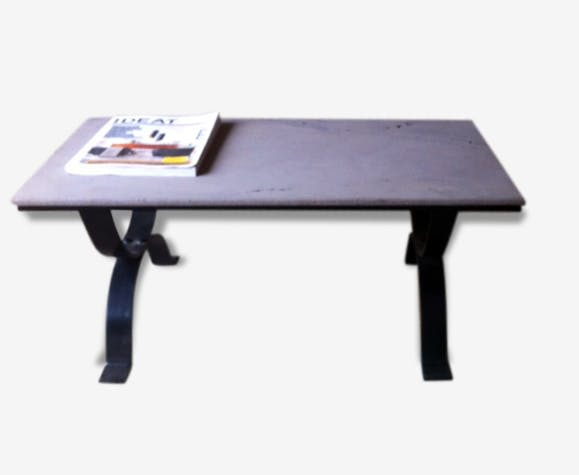 Table Basse En Pierre De Lave Selency