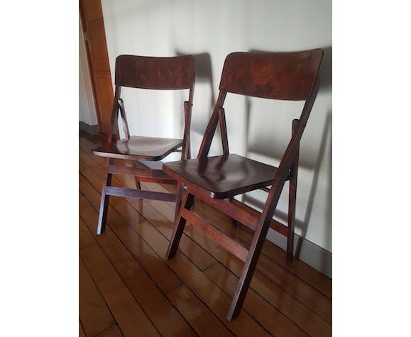 Chaises pliantes