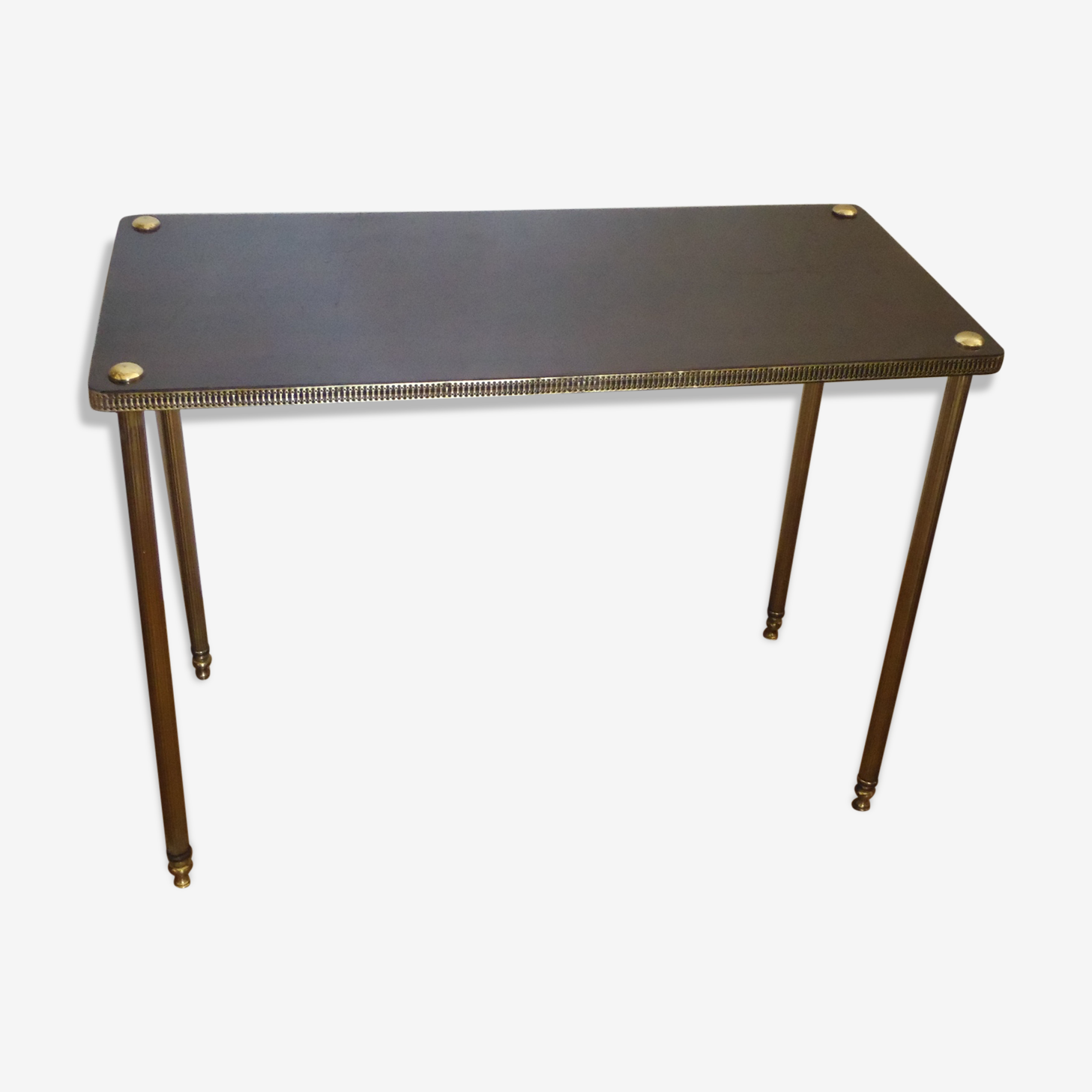 Table d'appoint, bout de canapé, 50's