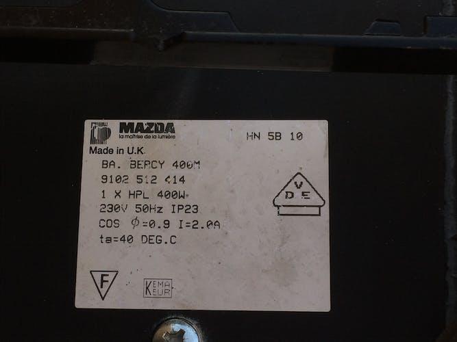 Suspension industrielle Mazda années 60