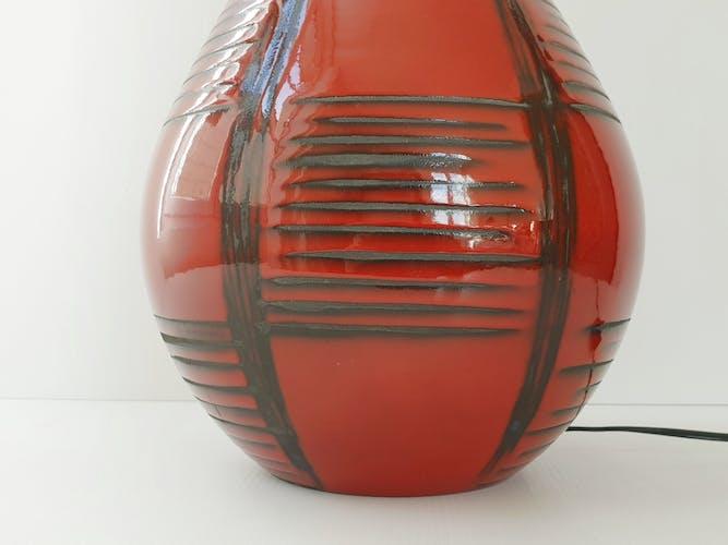 Lampe de table italienne 1950 vintage