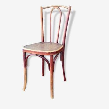 Chaise de bistrot bois 1930