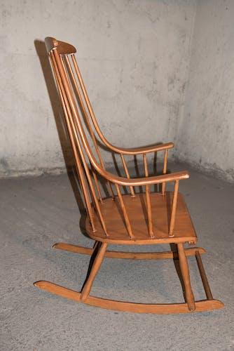 "Scandinavian rocking-chair model ""grandessa"" by Lena Larsson 50"