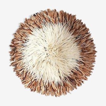 Juju hat naturel et blanc 60-65cm