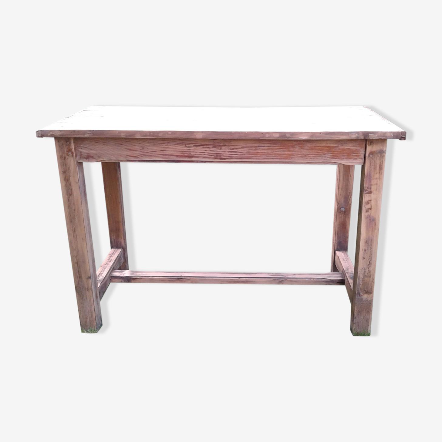 Table de ferme ancienne en sapin