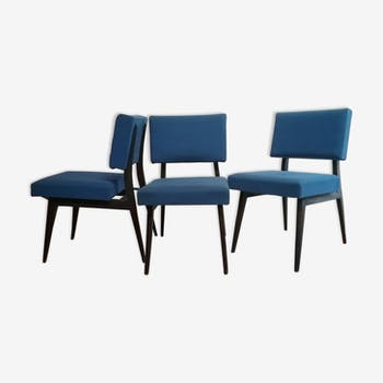 3 chaises chauffeuses 1950