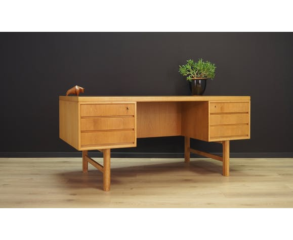 Omann Jun desk 60 70 vintage danish design