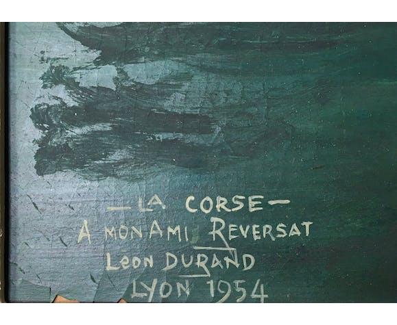 Paysage de la Corse