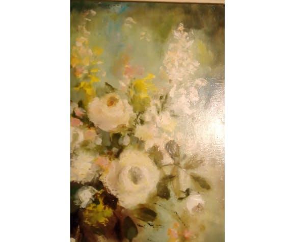 Peinture à l'huile signé Lesourt-Ruttinger