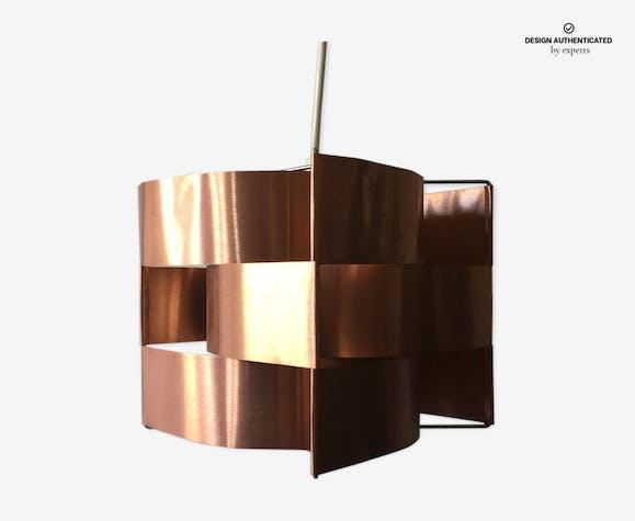 Copper hanging lamp Max Sauze