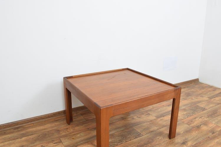 Table basse en teck par Illum Wikkelsø
