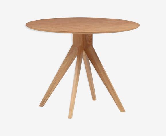 Table rond trépied