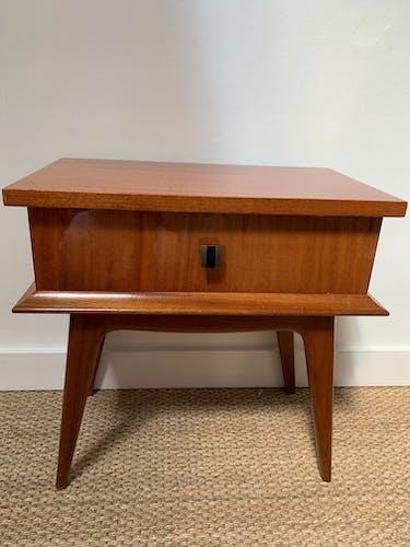 Table de chevet vintage années 1960