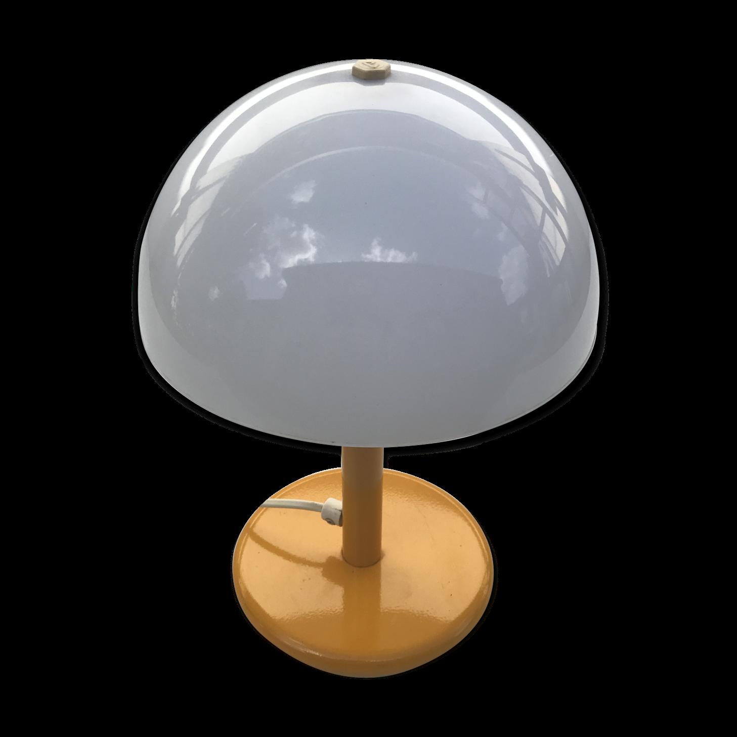 Lampe Champignon Aluminor Des Années 70 Vintage