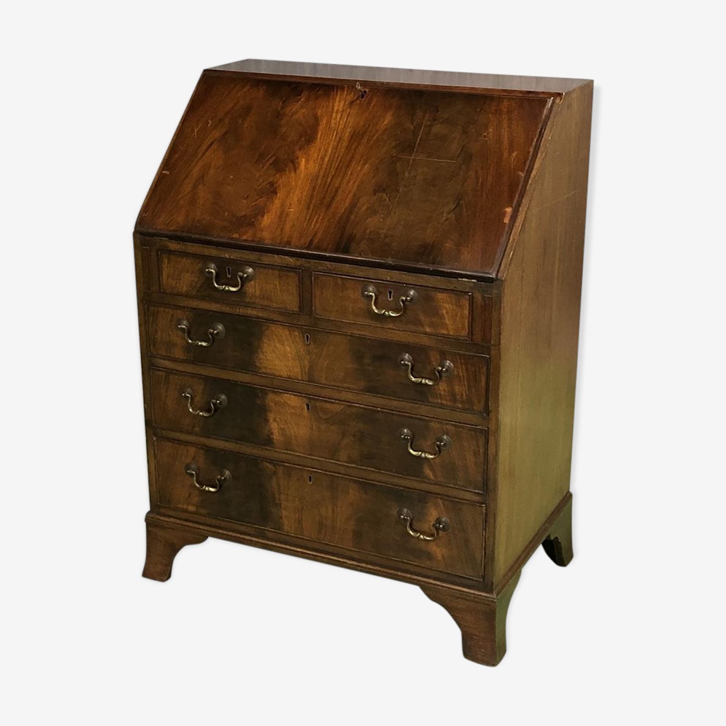 English writing desk in mahogany 30 years