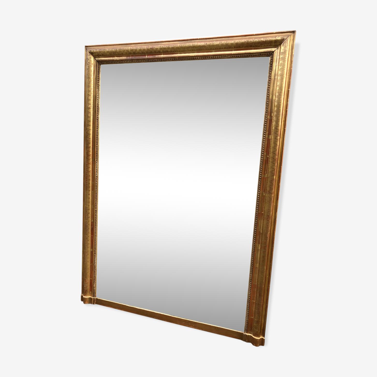Grand miroir Louis Philippe 134X98 cm