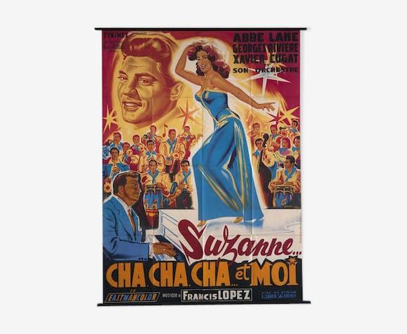 "Affiche du film ""Suzanne cha cha cha et moi"", 1958"