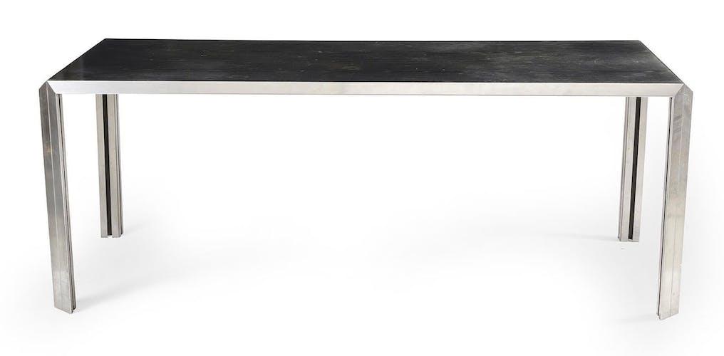 Bureau par « Bernard Marange -XXeme » édition TFM minimaliste design 1965