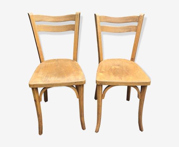 Duo de chaises bistrot Baumann