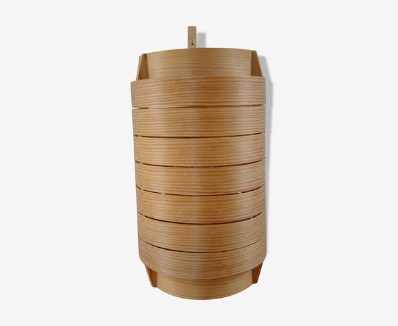 Wooden wallamp by Hans-Agne Jakobsson, Sweden. 1960's.