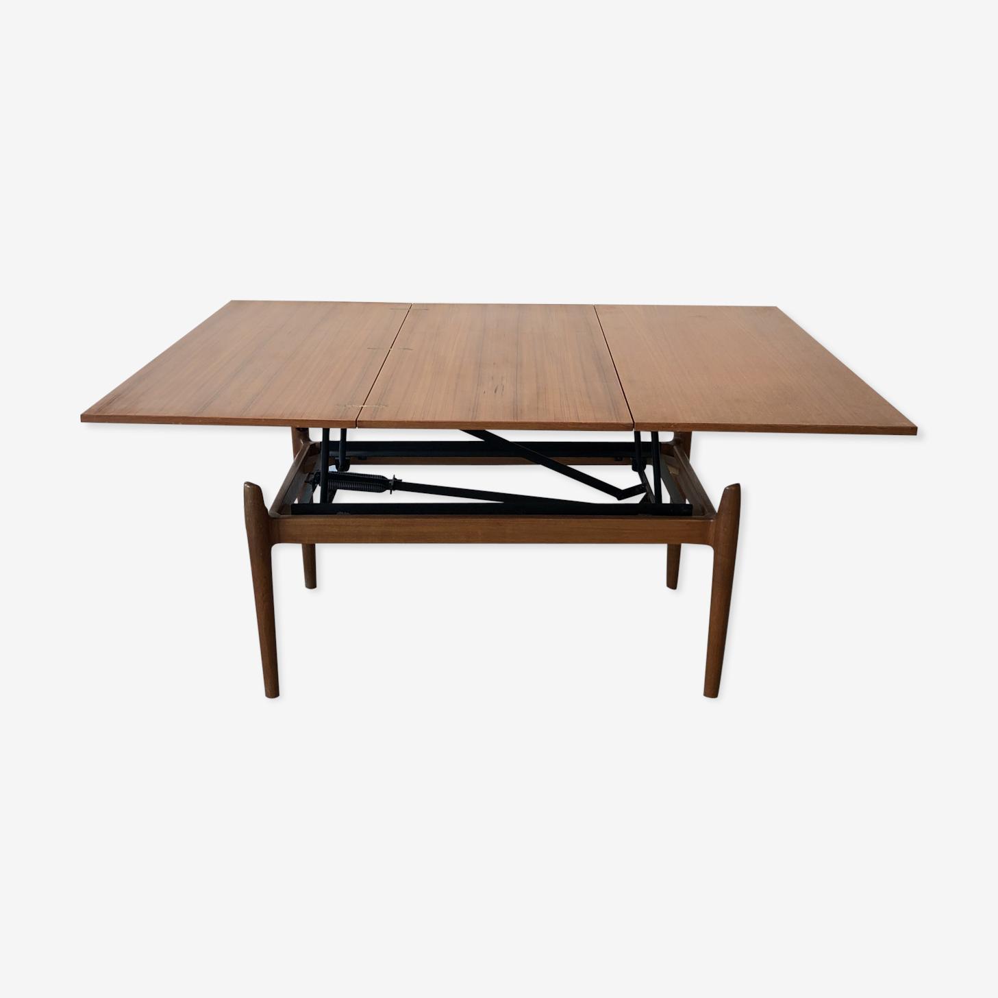 Table basse convertible scandinave
