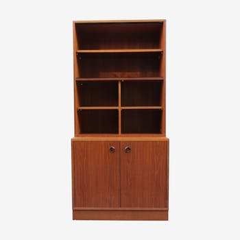 Vintage bookcase of the 60