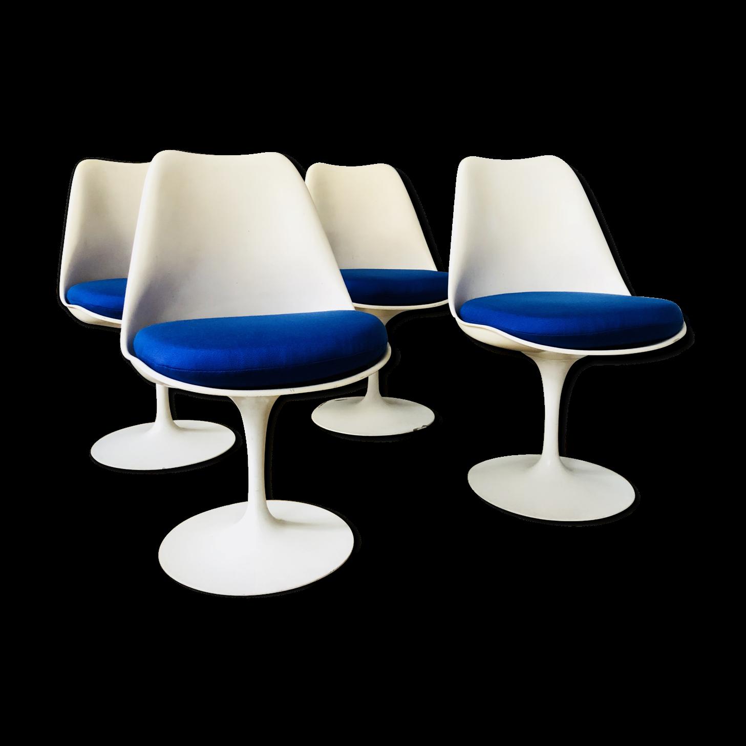 Chaises Tulipe Great Salon Design Signe Gautier Table Et Quatre