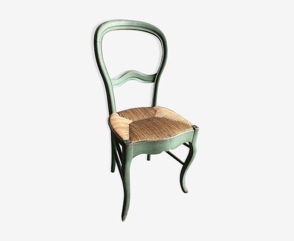 Chaise verte