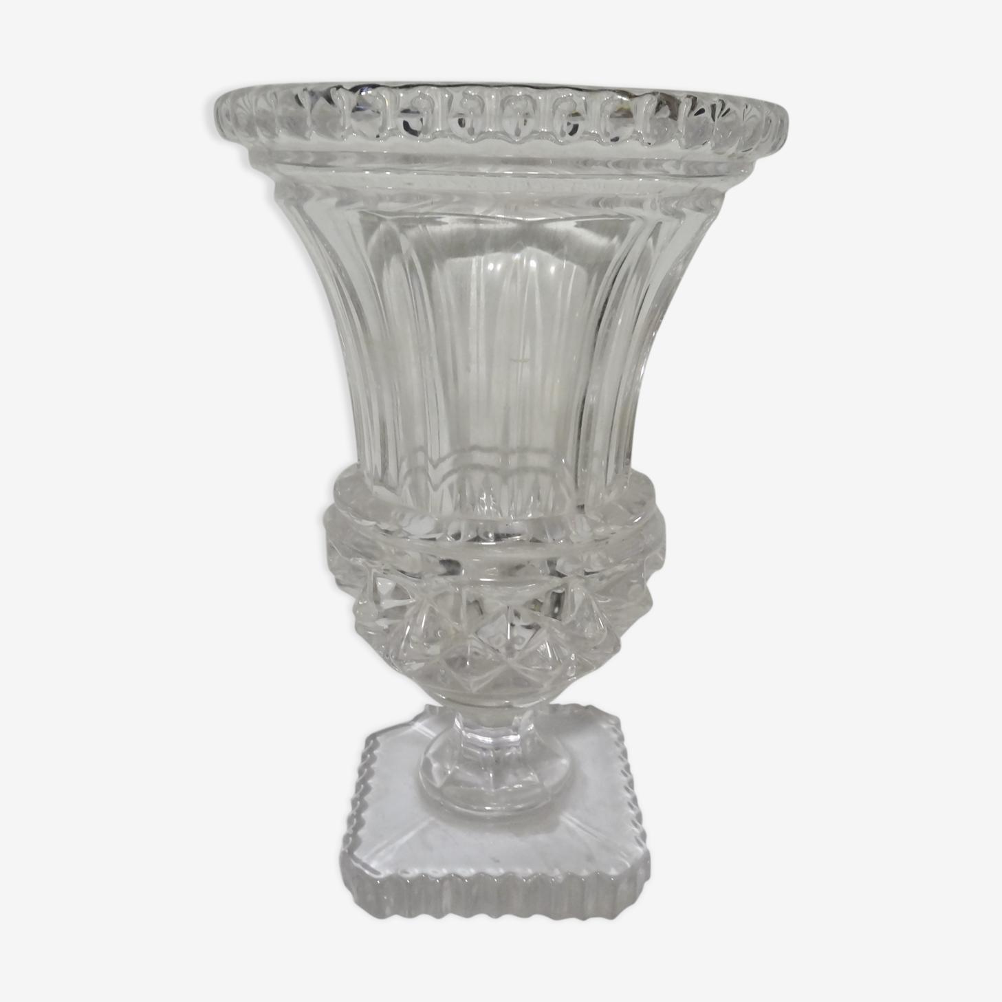 Vase medicis en cristal de vanne