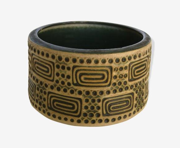 Cache pot en ceramique vintage