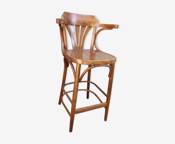 Chaise De En Courbématériaucouleur Bar Bois Haute DWIE29H