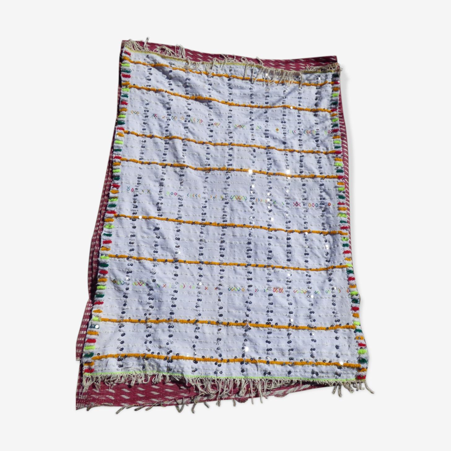 Handira tapis berbère marocain 120x160 cm