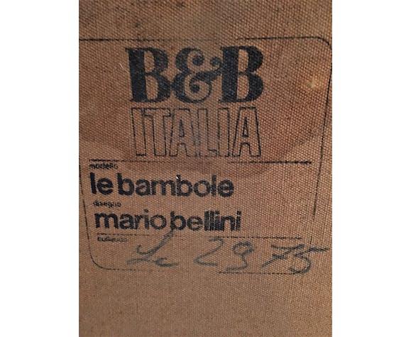 "Canapé ""Bambole"" en cuir de Mario Bellini"