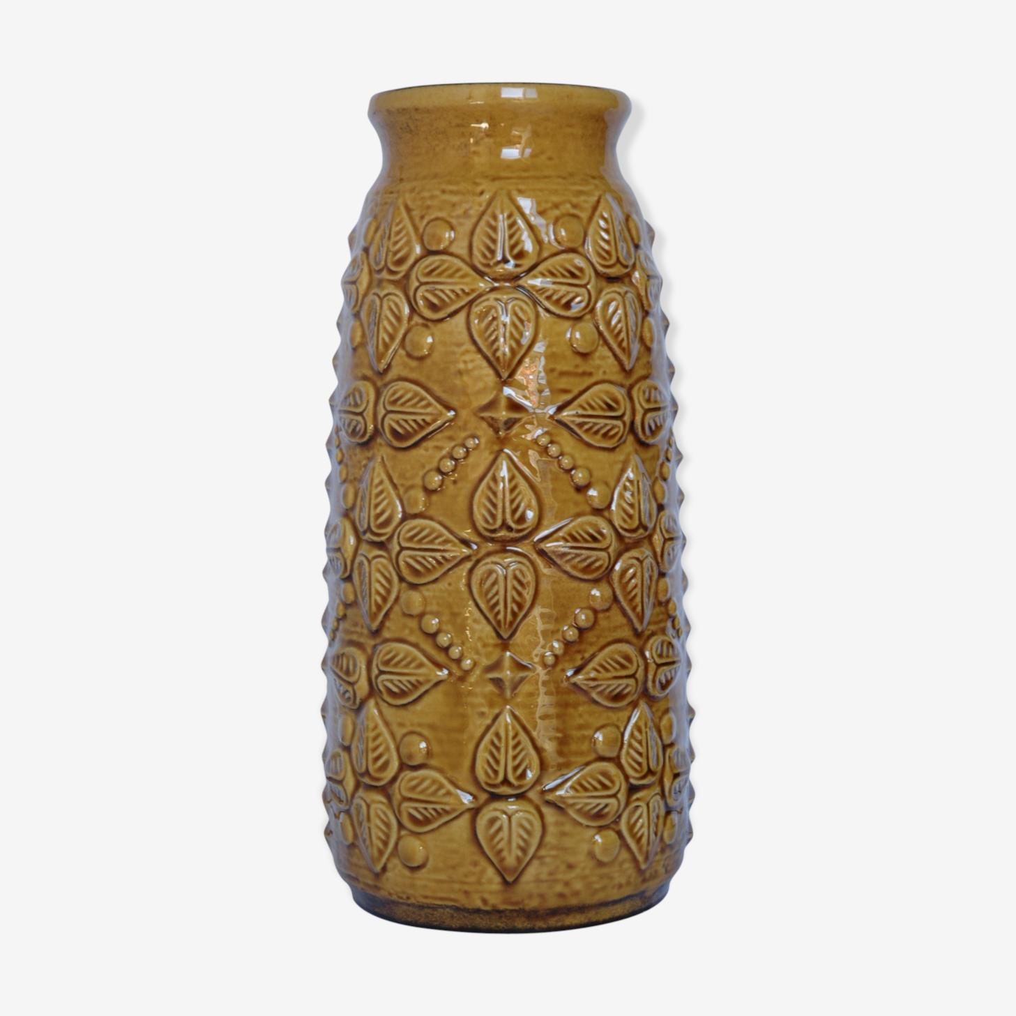 Vase céramique lava carstens west germany