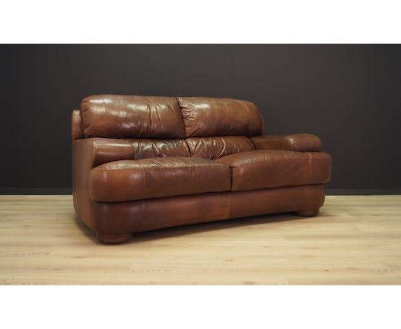 Canapé en cuir design danois