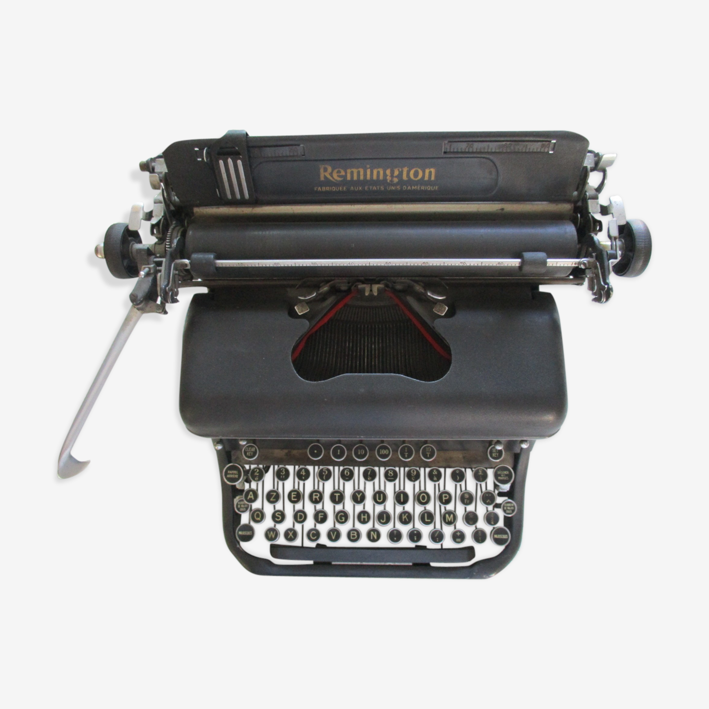 Typewriter Remington model 17 made in the United States of America