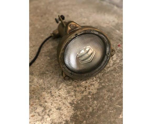 Spot en bronze vintage années 50