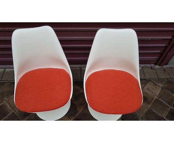 Paire de chaises d'Eero Saarinen édition Knoll international