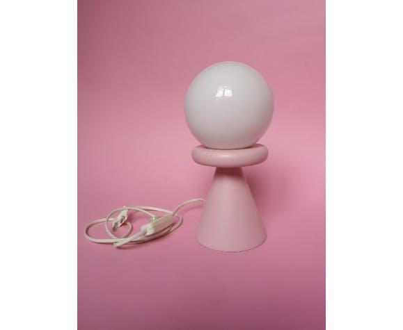 Lampe totem design Memphis