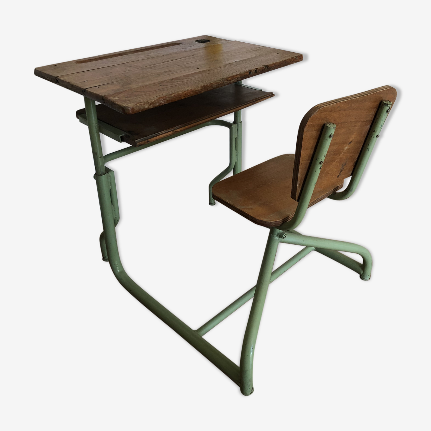 Desk vintage adjustable