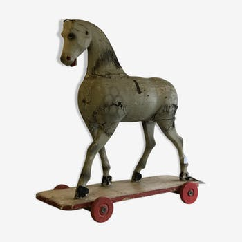 French riding horse